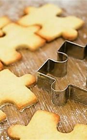 Narzędzia do pieczenia Stal nierdzewna Kreatywny gadżet kuchenny Ciastko / Akcesoria kuchenne Kwadrat Formy do Ciastek / Narzędzia makaronowe 1 szt.