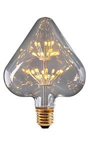 BRELONG® 1pc 3W 300 lm E26/E27 LED-globepærer 30 leds SMD Stjernefull Dekorativ Gul 220V-240V