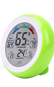 Touch Screen Digital Temperature Humidity Thermometer Hygrometer Temperature Humidity Sensor Platform ThermometerforHome