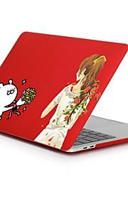 MacBook Etuis pour Romantique Mot / Phrase Princesse Plastique MacBook Pro 13 pouces MacBook Pro 15 pouces MacBook Air 13 pouces MacBook