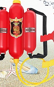 Kids Fire Backpack Pressure Sprinkler Toy Toys Parent-Child Interaction Plastic Shell All 1pcs Pieces