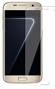 Protecteur d'écran Samsung Galaxy pour S7 edge TPU Hydrogel 1 pièce Ecran de Protection Avant Anti-Traces de Doigts Anti-Rayures Haute