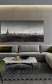 Print Rolled Canvas Prints - Abstract Landscape Modern
