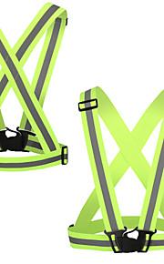 Reflecterend hardloopvest Draagbaar / Lichtgewicht Overige voor Fietsen / Hardlopen