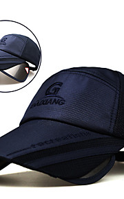 Cap Summer Extended / UV resistant / Breathability Hiking / Fishing / Traveling Unisex Polyester / Cotton Solid Colored