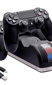 Med ledning Lader Til PS4 Prop / PS4 Slim / Sony PS4 Kreativ Lader ABS 1pcs enhet 100cm USB 2.0