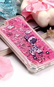 Case For iTouch 5/6 Shockproof / Flowing Liquid / Pattern Back Cover Soft