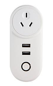 weto w-t04 au wifi inteligentna wtyczka do inteligentnego zdalnego sterowania domu działa z gniazdem alexa google home timera dla ios android