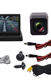 BYNCG 4.3ZD 4.3 inch TFT-LCD 480TVL 480p 1/4 inch color CMOS Wired 120 Degree 1 pcs 120 ° 4.3 inch Rear View Camera / Car Reversing Monitor / Car Rear View Kit Waterproof / LED indicator / Night