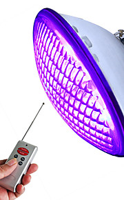 1pc 18 W Onderwaterlampen Waterbestendig / Etäohjattu RGB 12 V Buitenverlichting / Zwembad 45 LED-kralen