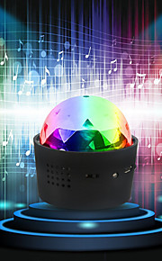 YWXLIGHT® 1pc Luz de noche LED RGB USB Smart / Luces LED Activadas Por Sonido / Cumpleaños 5 V