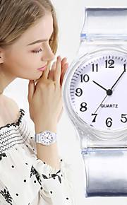 Γυναικεία Χαλαζίας Χαλαζίας Κομψό σιλικόνη Μαύρο / Λευκή / Μπλε Νεό Σχέδιο Καθημερινό Ρολόι Αναλογικό Καθημερινό Μοντέρνα - Ρουμπίνι Ανθισμένο Ροζ Βυσσινί Ενας χρόνος Διάρκεια Ζωής Μπαταρίας