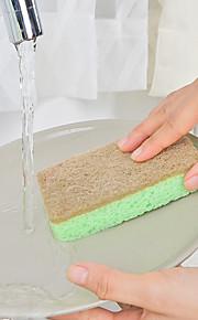Κουζίνα Είδη καθαριότητας Νάιλον Microfiber σφουγγάρι πολυεστερικές ίνες Σφουγγάρι Κουζίνας Νεό Σχέδιο Προστασία Εργαλεία 1set