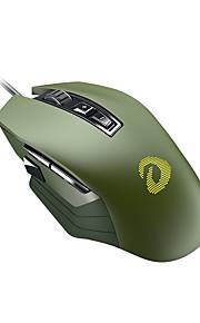 dareu em915r ενσύρματο ποντίκι οπτικών παιχνιδιών rgb 600/1200/2400/3600/4800/6000 dpi 6 ρυθμιζόμενα επίπεδα dpi 8 κουμπιά