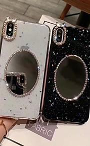 tok Για Apple iPhone XR / iPhone XS Max Καθρέφτης / Ημιδιαφανές / Λάμψη γκλίτερ Πίσω Κάλυμμα Λάμψη γκλίτερ Σκληρή TPU για iPhone XS / iPhone XR / iPhone XS Max