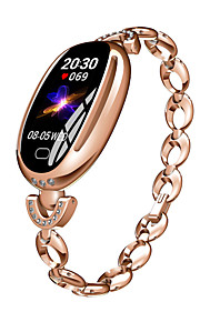 BoZhuo E68 Γυναικεία Έξυπνο βραχιόλι Android iOS Bluetooth Αδιάβροχη Συσκευή Παρακολούθησης Καρδιακού Παλμού Μέτρησης Πίεσης Αίματος Θερμίδες που Κάηκαν Πληροφορίες