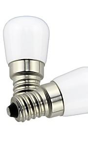 1.5 W LED Λάμπες Σφαίρα 85 lm E14 T22 1 LED χάντρες SMD Διακοσμητικό Lovely Θερμό Λευκό Ψυχρό Λευκό 220 V 110 V, 2pcs