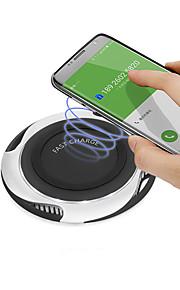 10 Вт Ци быстрое беспроводное зарядное устройство для Samsung Galaxy S9 / S9 S8 S7 Note 9 S7 край USB QI зарядная площадка для Iphone X 8 Plus