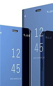 Кейс для Назначение SSamsung Galaxy S8 со стендом / Флип Чехол Однотонный Твердый ПК для S8