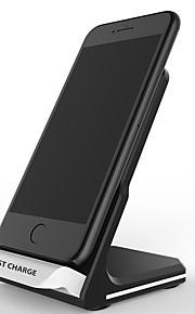 10 Вт ци стандартное беспроводное зарядное устройство быстрое зарядное устройство подставка док-станция для быстрой зарядки для iphone 8 х samsung s9 s8 s7 s8 plus s9 plus note8 plus
