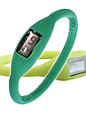 Pair of ION Fashion Unisex Silicone Jelly Sports Automatic Wrist Watches - Green & Lime