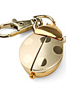 Gold Beetle Style Quartz Analog Keychain Watch Cool Watches Unique Watches