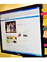 tablero de mensajes utilitario lindo para notas de la pantalla de la computadora adhesiva para la oficina