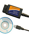 Car Diagnostics ELM 327 OBD2 USB Scanner