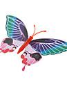 형광 나비 모양의 냉장고 자석 (임의 색상)