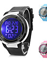 Multi-Function Unisex Silicone Digital LED Wrist Watch (Assorted Colors) Cool Watches Unique Watches