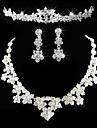 Pentru femei Altele Set bijuterii Σκουλαρίκια / Coliere / Tiare - Regulat Pentru Nuntă / Petrecere / Aniversare