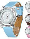 여성의 중공 PU 가죽 스타일의 아날로그 석영 손목 시계 (여러 색)