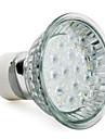 gu10 18 LED 90lm 1-1.2w 6000-6500k 화이트 스폿 전구 (220-240V)