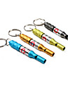 Survival Whistle Hiking Whistle Emergency Metal pcs