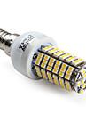Lâmpada Espiga E14 W 400 LM 2800K K Branco Quente 120 SMD 3528 AC 220-240 V