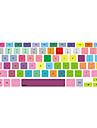 """couverture de clavier de conception coloree pour 13 """"15"""" macbook pro mac clavier couvre"""