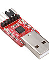 CP2102 USB 2.0 para ttl conversor módulo uart 6pin série