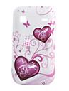 Heart-Shaped Pattern Мягкий чехол для Samsung Galaxy Gio S5660