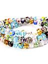 modèle de fleur globulaire Vaidurya bracelet
