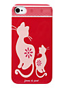Cat Pattern Hard Case for iPhone 4 and 4S