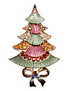 Colorful Christmas Tree Crystal Ornaments