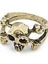 Skull And Bones Alloy Ring