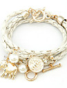 Charm Bracelet - Ladies, Unique Design, Casual, Fashion Bracelet Jewelry White / Black / Green For Christmas Gifts