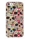 caveiras coloridas caso difícil padrão para o iphone 5/5s