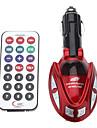 FM 송신기와 벌레 스타일의 자동차 MP3 플레이어 (여러 색)