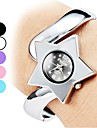 Women's Star Style Alloy Analog Quartz Bracelet Watch (Silver) Cool Watches Unique Watches