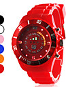 Unisex Sport Style Silicone Digital LED Wrist Watch (Assorted Colors)