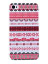 아이폰 4/4S를위한 꽃 스트라이프 패턴 보호 하드 케이스