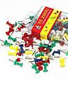 Universal con color colorido Set push pin (About 40PCS)