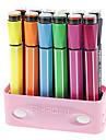 12 الألوان أقلام الألوان المائية مع قبعات الخاتم مجموعة (لون عشوائي)